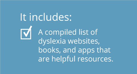 Dyslexia Resources for Teachers