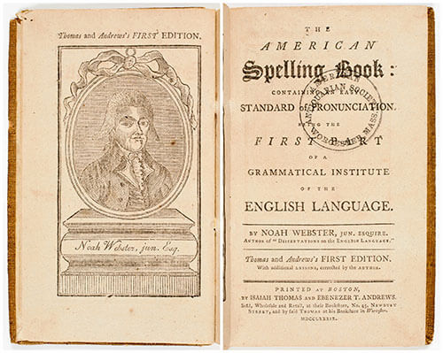 Noah Webster's American Spelling Book